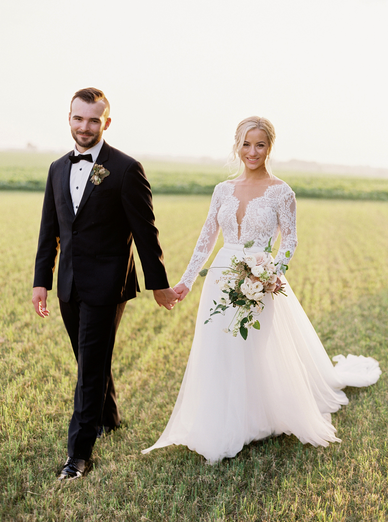 Picture the Typical Farm Wedding—This Personal, Refined Wisconsin Celebration Is Better