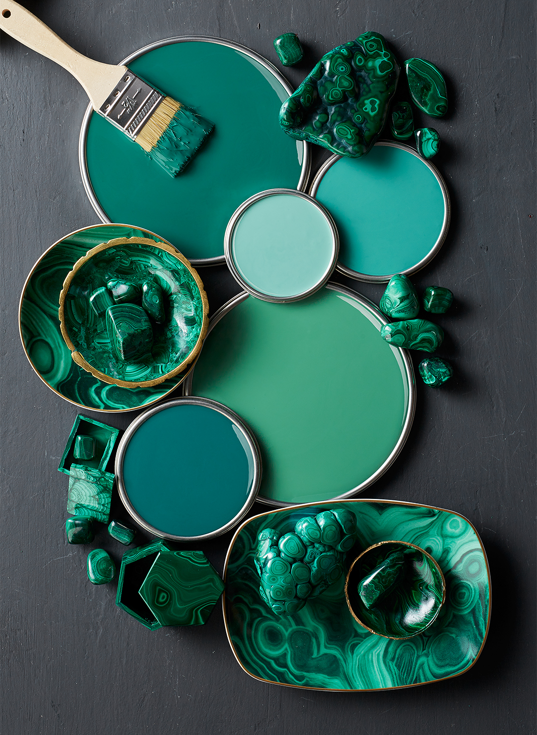 Jewel Green Paint Colors