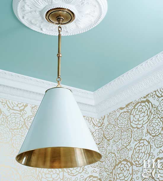 How to Transform a Room with Crown Molding