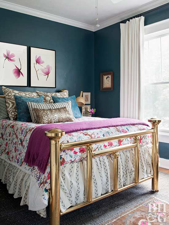 Jewel Tone Bedroom Paint Colors