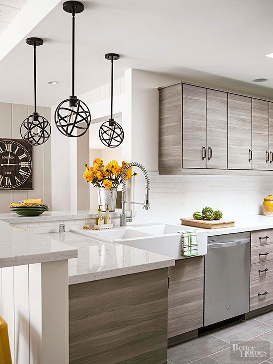 Magnificent A Bright Approach To Kitchen Lighting Interior Design Ideas Apansoteloinfo