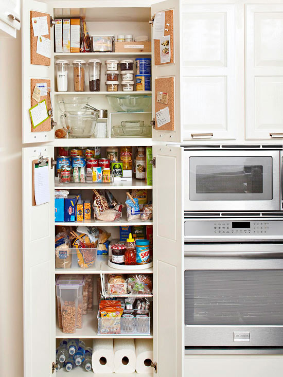 Top Tips for Kitchen Pantry Organization | Better Homes ...