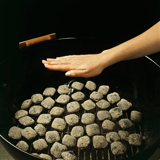 Arranging Coals for Cooking