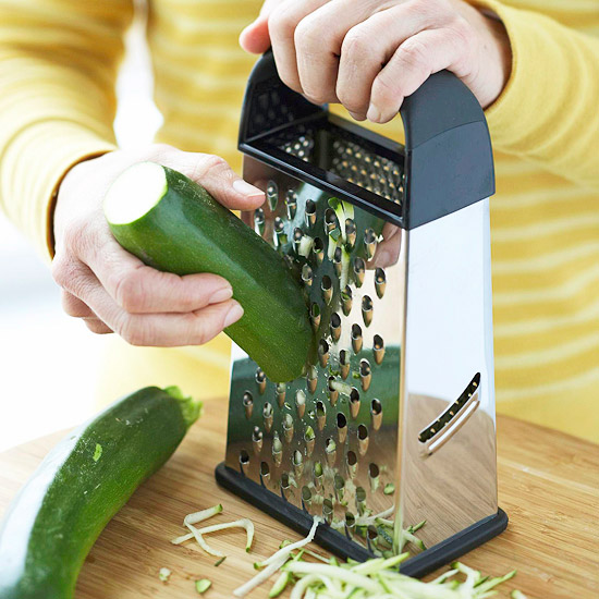 Shredding Zucchini