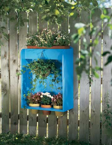 Build This Fence Planter