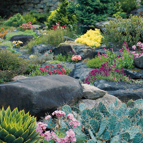 Landscaping With Rocks And Stones Better Homes Gardens