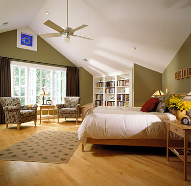 How Unused Attic Space Became a Master Suite