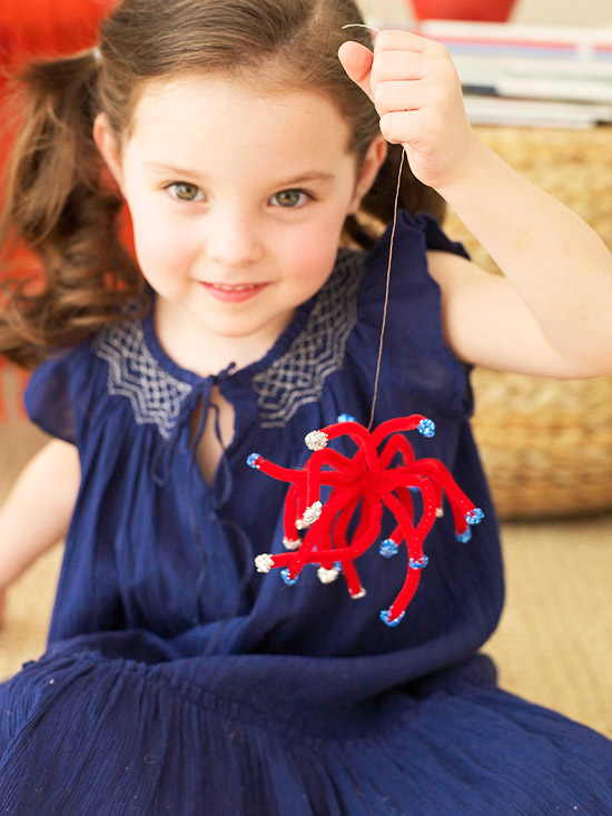 Fourth of July Fireworks Craft for Kids
