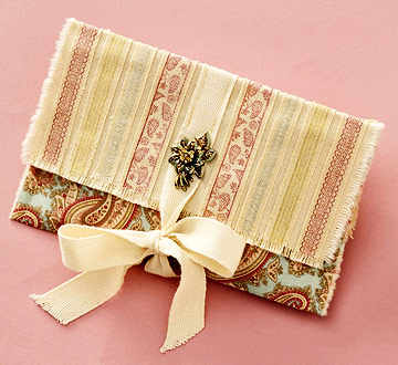 Make a Simple Gift Pouch
