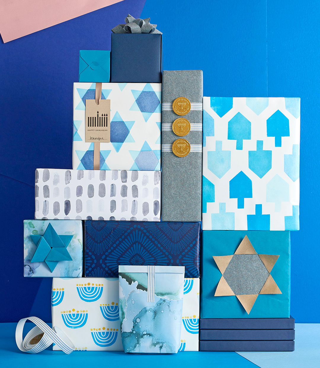 Eight Days, Eight Ways to Wrap Hanukkah Gifts