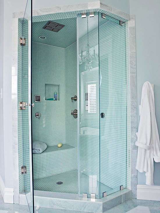Capture A Corner 101704111 Walk In Shower Designs For Small Bathrooms