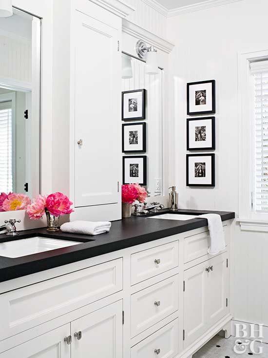 How To Paint Bathroom Countertops Better Homes Gardens