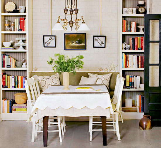 Small Dining Room Solutions: Better Homes & Gardens