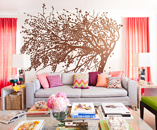 House Tours: Colorful & Vibrant California Apartment