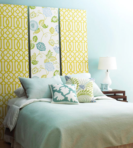 Easy Decorating Updates with Fabric