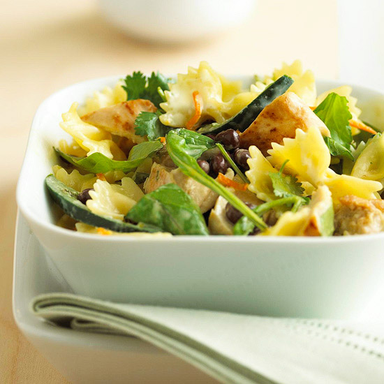 Pasta Salad with Orange Dressing