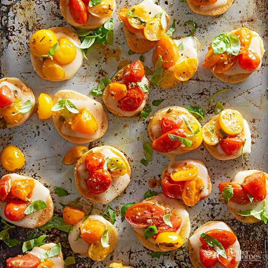 Grilled Pizza Poppers
