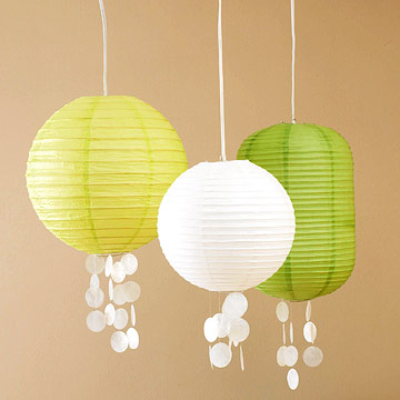Lanterns with a Seaside Touch