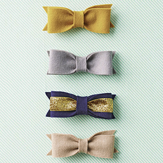 Hair Bow Party Favors