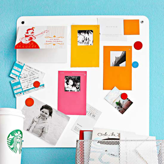 Colorful Photo To-Do Board