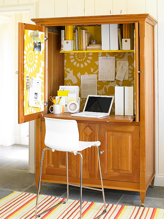 desk armoire cabinet hutch storage