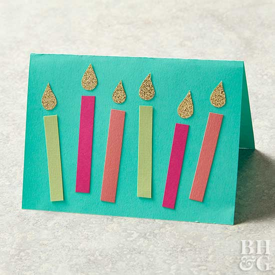 Fun Handmade Birthday Cards For Girls
