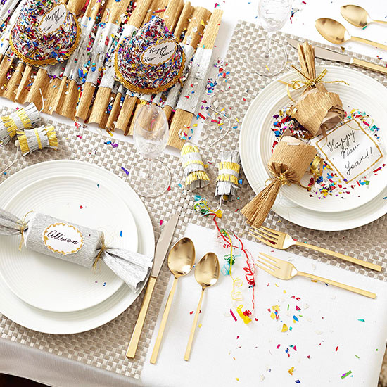 Easy Ideas for New Year's Tables | Better Homes & Gardens