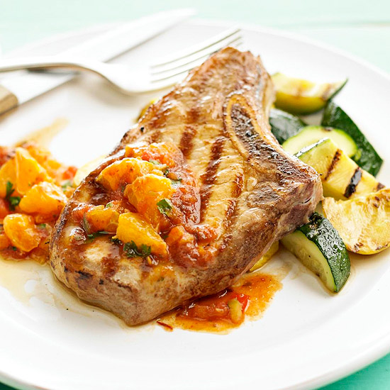 Pork Chop and Squash