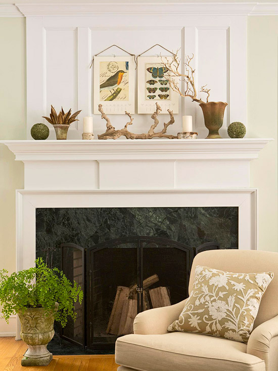 25+ Creative Ways to Dress Up Your Mantel