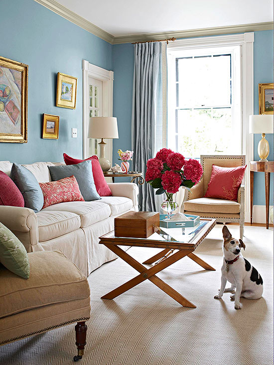 Color Combos Using Blue Better Homes Amp Gardens