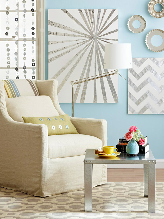 Decorating Your Living Room Walls: 39 Blank Walls Solutions For Your Home