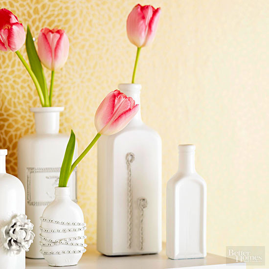 Valentine's Day Vase Display