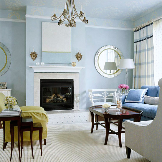 Cool Living Room Colors: Better Homes & Gardens