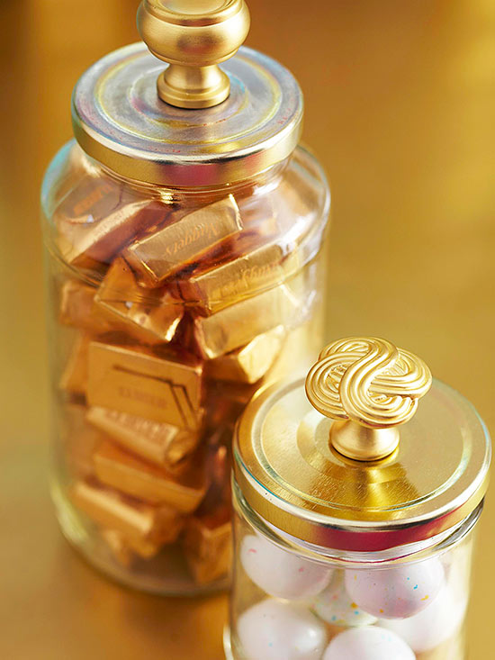 Gilded Containers