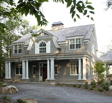 Home Tour: Shingle-Style Home with Luxurious Touches