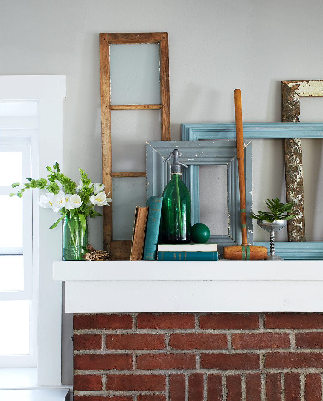How To Decorate A Fireplace Mantel: Fireplace Mantel Decorating