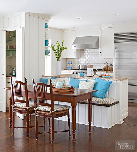 Excellent Banquette Dining Better Homes Gardens Pdpeps Interior Chair Design Pdpepsorg