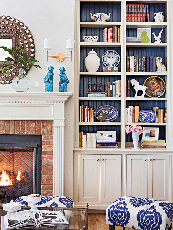 Decorating With Books: Decorating Ideas From (and With