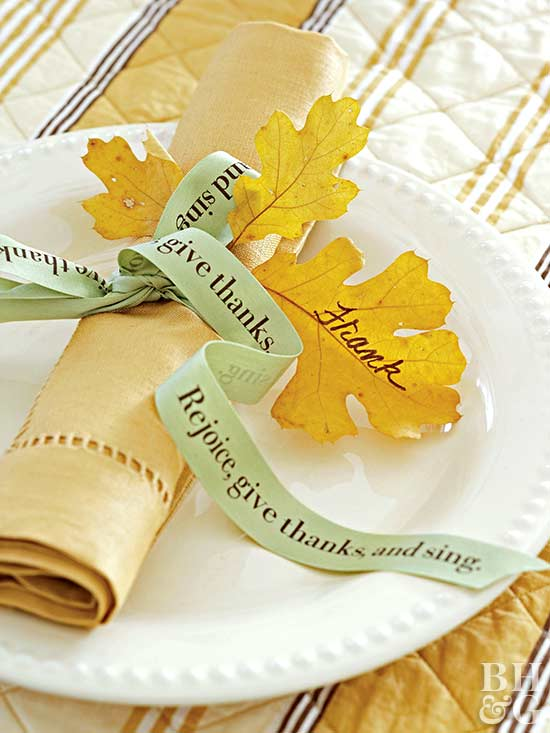 Family Tree Place Setting