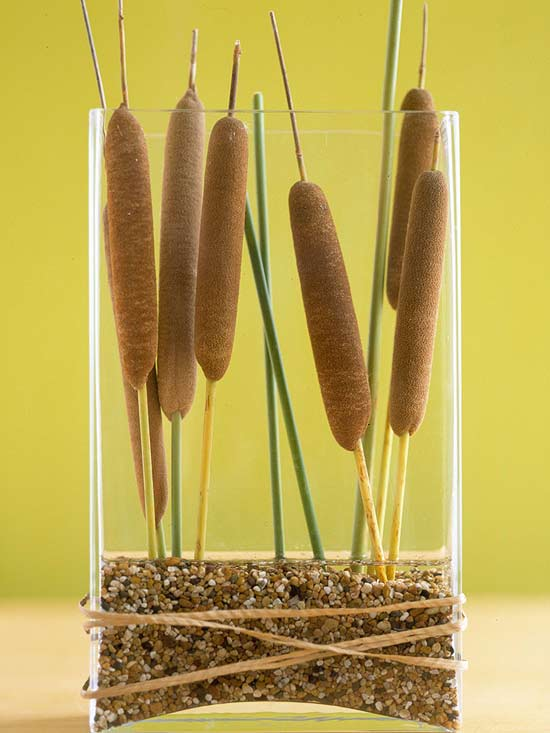 Cattail Arrangement