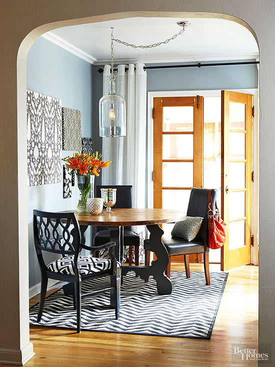 Dining. How To Install A Light Fixture