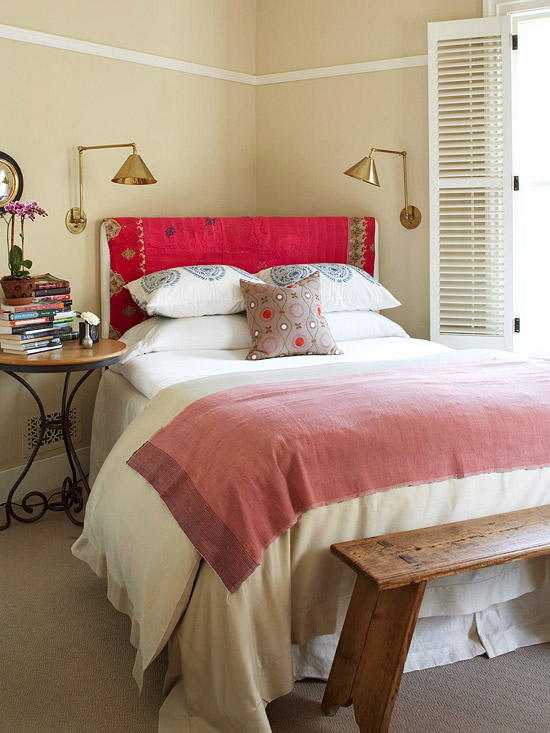 Freshen your bedroom with low cost updates better homes - Low cost bedroom decorating ideas ...