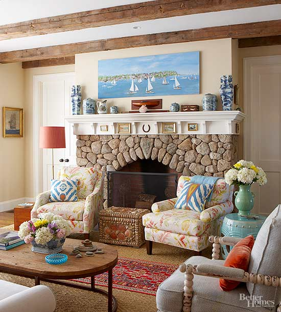 Stone Fire Place Ideas: Fireplace Designs: Ideas For Your Stone Fireplace