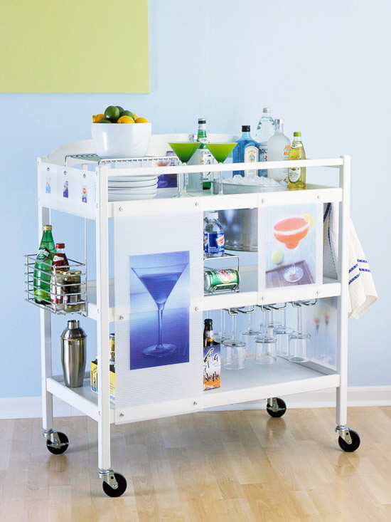 Alcohol cart