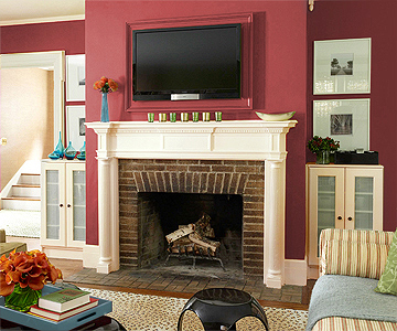 Choosing Wall Paint Color: Red
