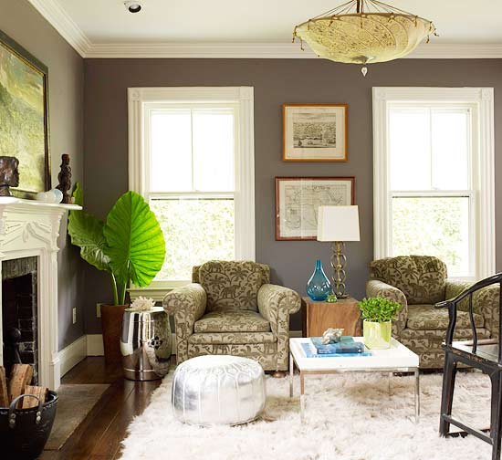 Accent Colors For Gray Living Room: Ideas For Decorating In Gray