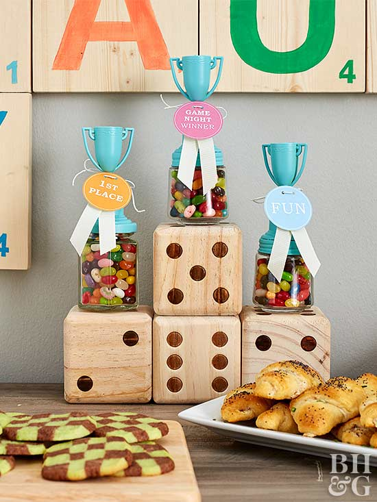 DIY Candy Trophies