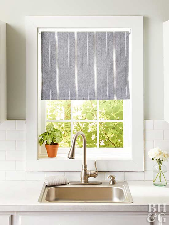 Window Treatment Ideas: 14 DIY Kitchen Window Treatments