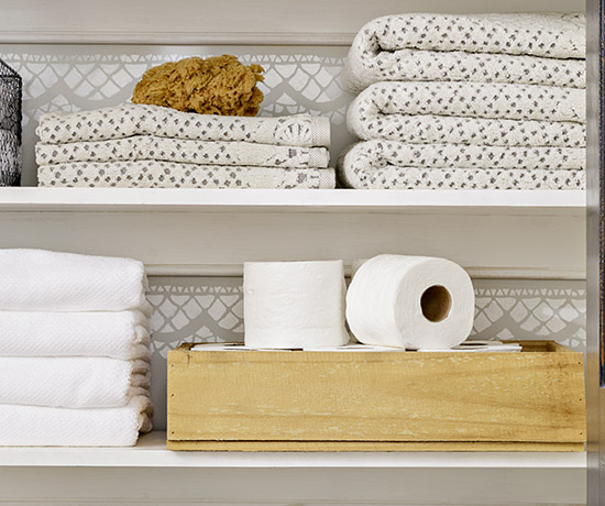Organize A Linen Cabinet Or Closet Better Homes Amp Gardens