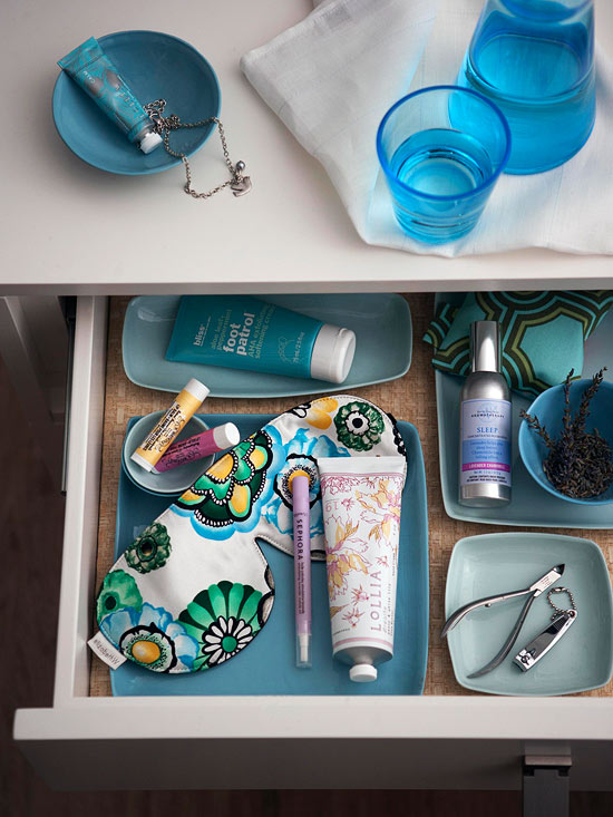 Create a Pampering Station